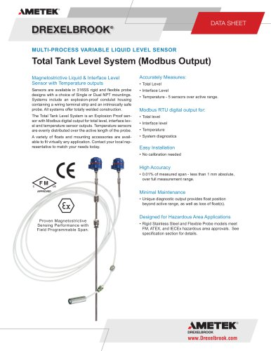 Total Tank Level System
