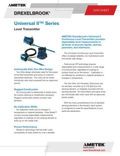 Universal II Series