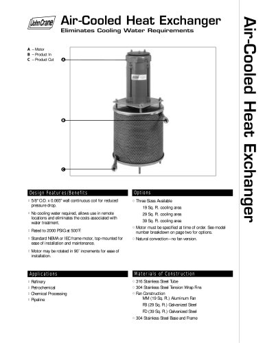 Air-Cooled Heat Exchanger