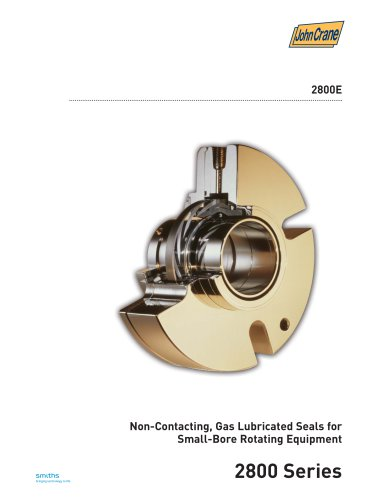 Non-Contacting, Gas Lubricated Seals for Small-Bore Rotating Equipment