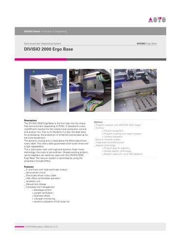 DIVISIO2000 Ergo Base