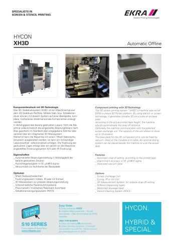 HYCON XH3D