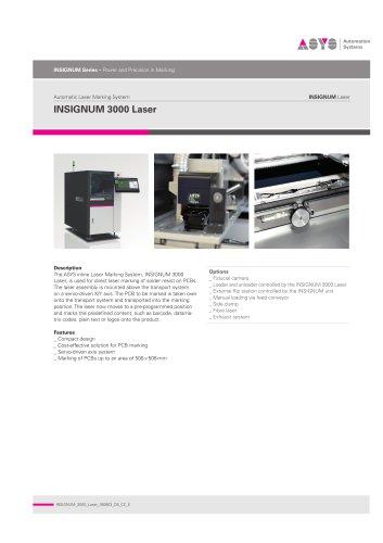 INSIGNUM 3000 Laser