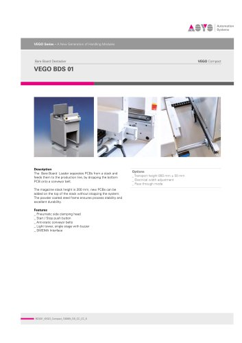 VEGO Compact BDS 01