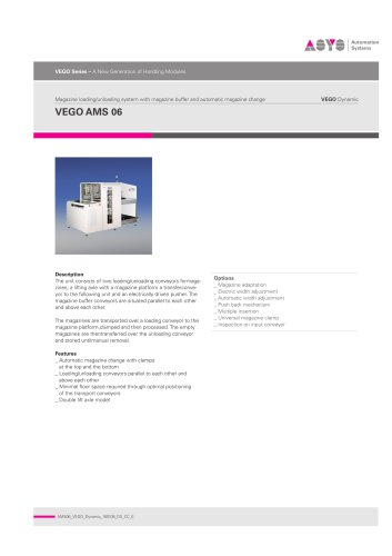 VEGO Dynamic AMS 06