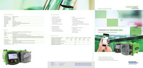 Verderflex Vantage 5000 Brochure
