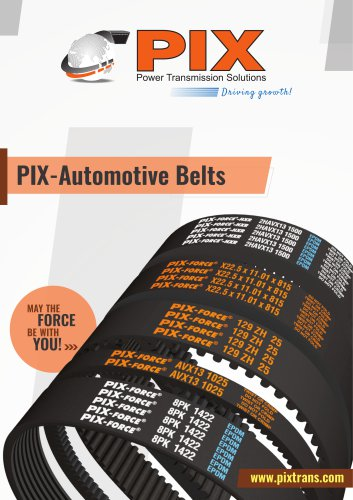 PIX-Automotive Belts