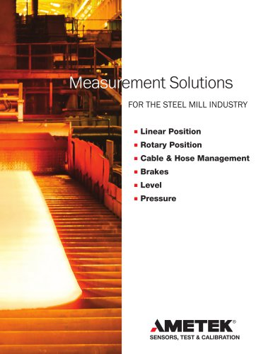 Measurment solutions for the steel mill industry