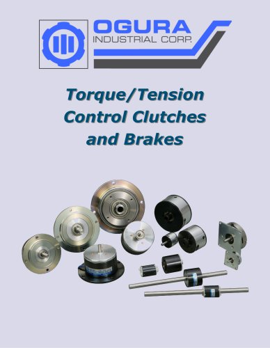 Torque/Tension Control Clutches and Brakes