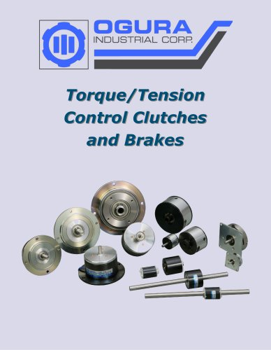 Torque/Tension Control Clutches and Brakes brochure
