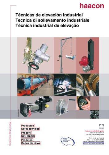 Tecnica di sollevamento industriale