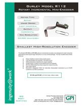 R112 Rotary Incremental Encoder