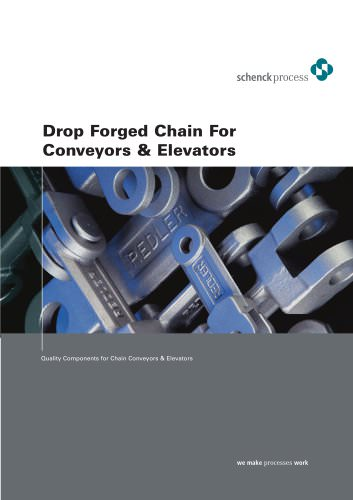Drop Forged Chain For Conveyors & Elevators