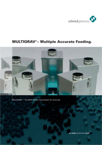MULTIGRAV® The Multi-Station Feed System for Granules