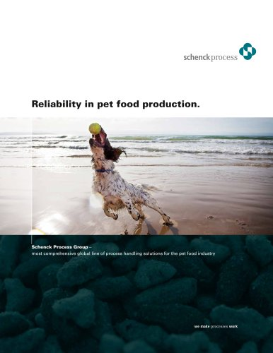 Reliability in pet food production