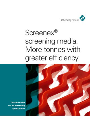 Screenex® screening media