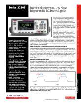 Precision Measurement, Low Noise, Programmable DC Power Supplies