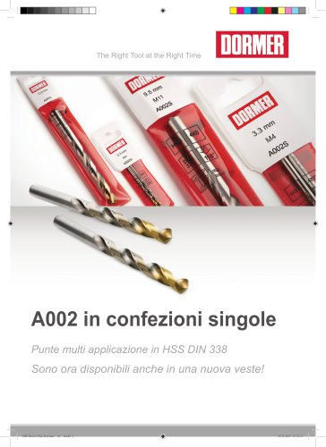 A002S Confezione per espositori