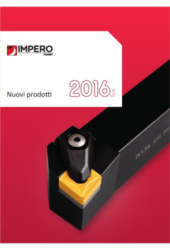 Nuovi prodotti 2016.1