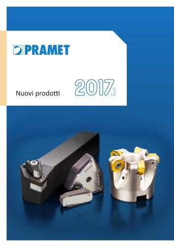 Pramet 2017.1 Nuovi prodotti