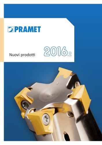 Pramet Nuovi prodotti 2016.2