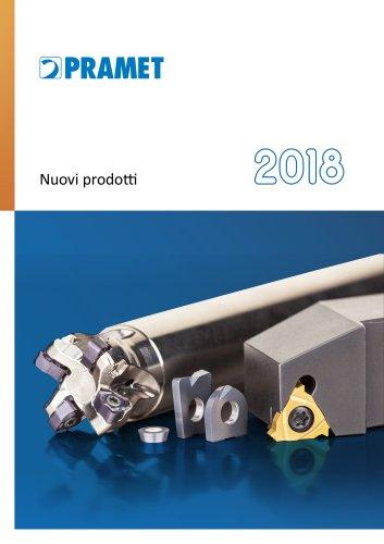 Pramet Nuovi prodotti 2018