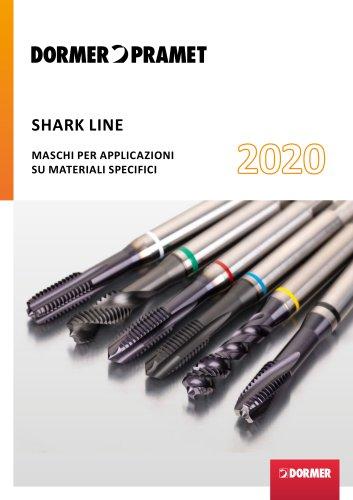 SHARK LINE MASCHI PER APPLICAZIONI SU MATERIALI SPECIFICI 2020