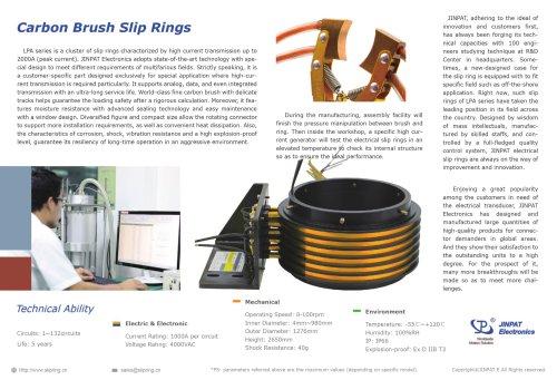 JINPAT Carbon Brush Slip Ring