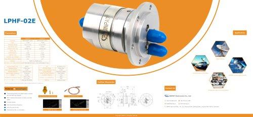 JINPAT LPHF-02E Coax Rotary Joint