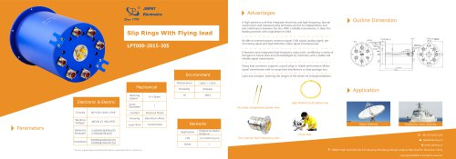JINPAT Slip Ring with Flying Lead