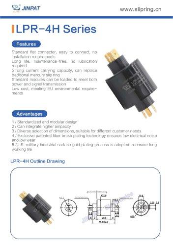 LPR-4H Pin Connection Slip Ring