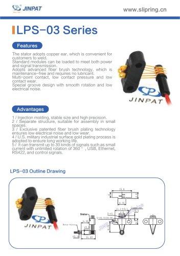 LPS-03 Series Sepatate Slip Rings