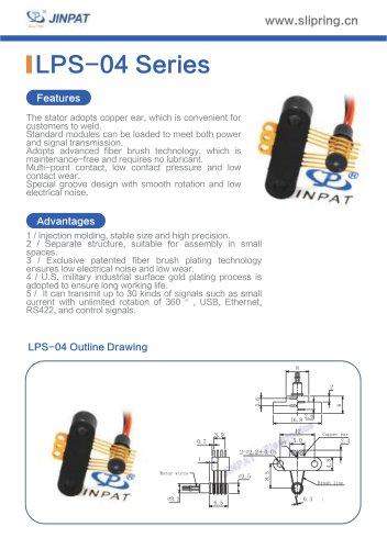 LPS-04 Series Sepatate Slip Rings