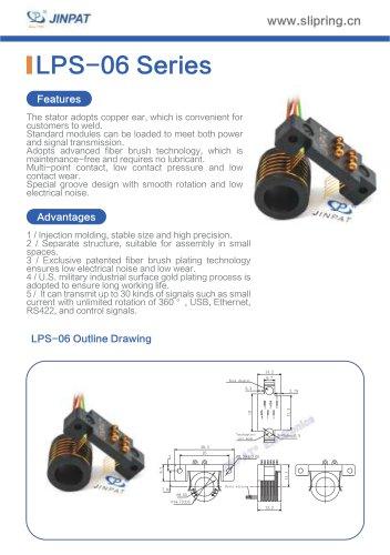 LPS-06 Series Sepatate Slip Rings