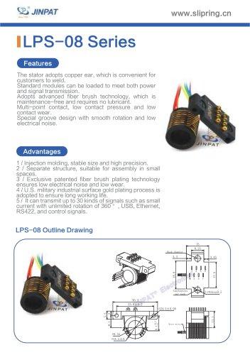 LPS-08 Series Sepatate Slip Rings