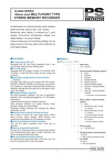 AL4000 Dot-printing