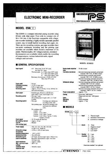 ELECTRONIC MINI-RECORDER