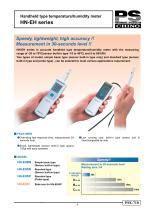 Handheld type temperature/humidity meter HN-EH series