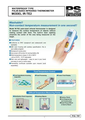 WATERPROOF TYPE INFRARED THERMOMETER IR-TE2