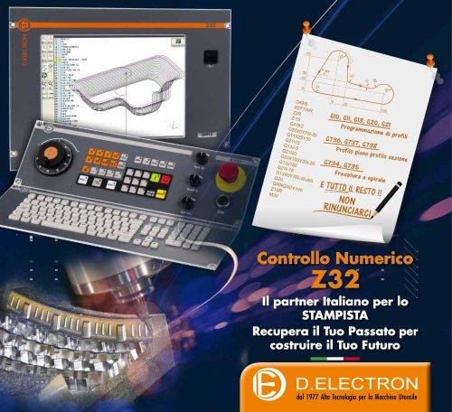 CNC Z32 Depliant Funzione Stampi