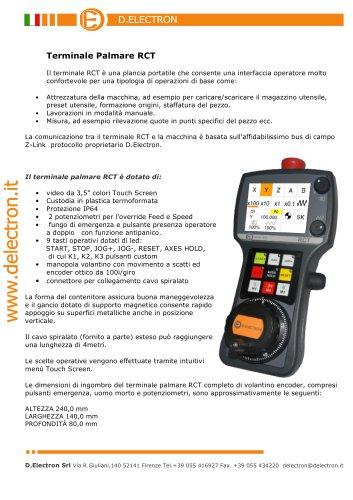 CNC Z32 RCT Terminale Palmare Touch V1