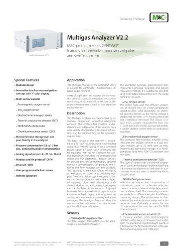 GENTWO Multigas Analyzer