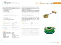 Absolute Position Rotary Electric Encoder - DS-16 Data Sheet