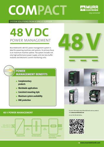 48VDC Power Management