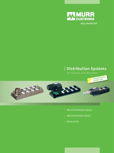Distribution Systems for Sensors and Actuators