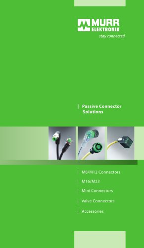 Passive Connector Solutions