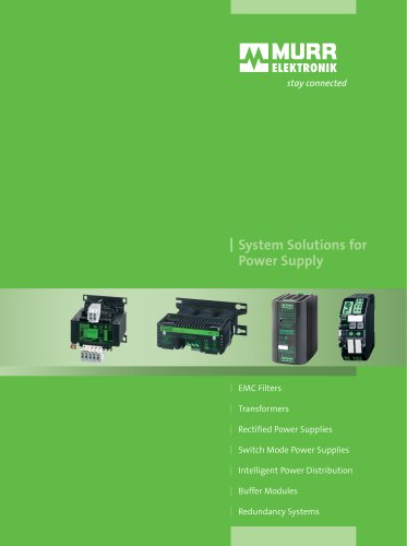 System Solutions for Power Supply