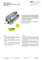 Rotary encoder HBN/S3 SIL2