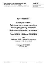 Rotary encoder TBN42/S4 SIL2 Manual