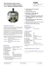 Rotary encoder TBN58/R2 redundant
